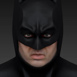 Batman Zbrush Render